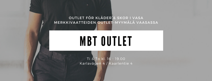 MBT Outlet Brand Distribution Outlet Store in Vaasa, Finland